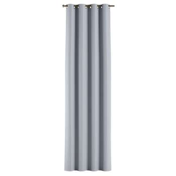 Mörkläggande gardin med öljetter 1 längd i kollektionen Blackout (mörkläggande), Tyg: 269-62