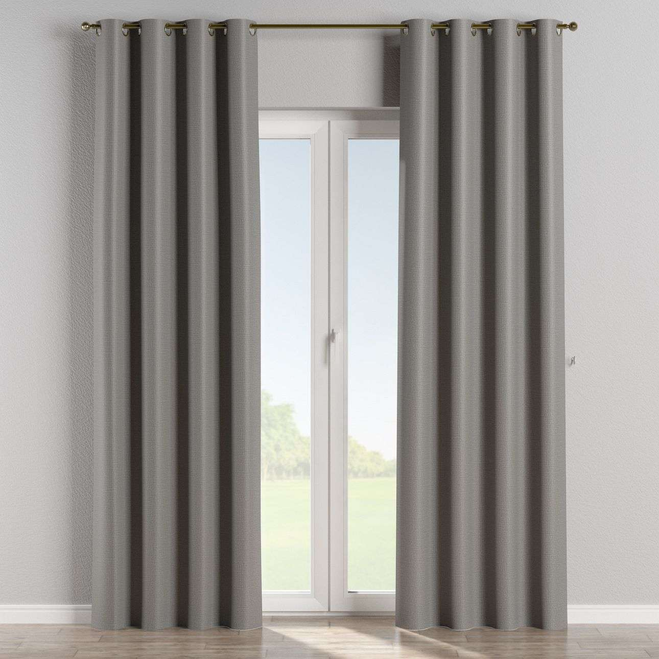 verdunklungsvorhang mit sen dunkelgrau dekoria. Black Bedroom Furniture Sets. Home Design Ideas