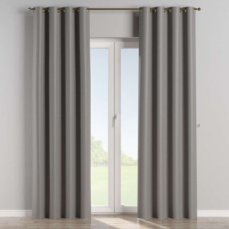 Blackout eyelet curtain in collection Blackout, fabric: 269-63