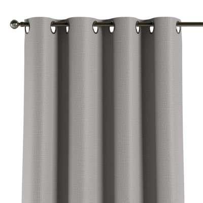 Užuolaidos temdančios žiedinės 1vnt. 269-64 Šviesiai pilkas žakardinis audinys su struktūriniu paviršiumi Kolekcija Blackout
