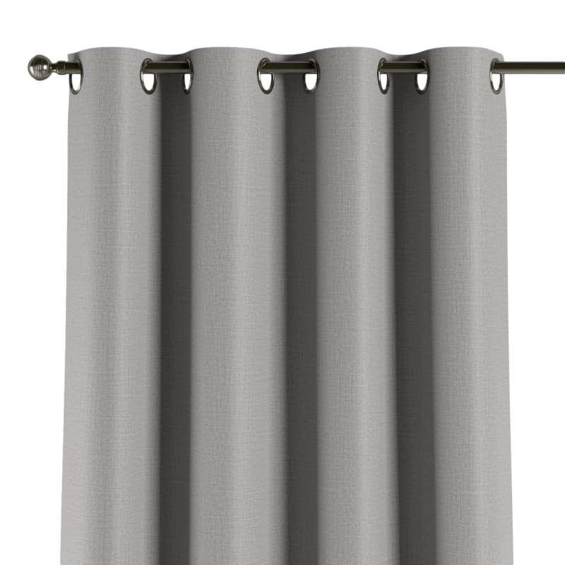 Mörkläggande gardin med öljetter 1 längd i kollektionen Blackout (mörkläggande), Tyg: 269-64