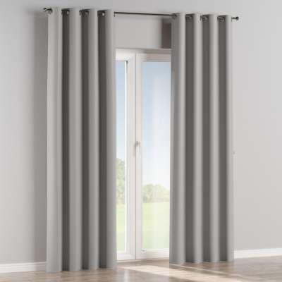 Blackout eyelet curtain 269-64 light grey Collection Blackout