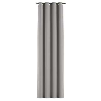 Gardin lystet med maljer 1 stk. 140 × 260 cm fra kolleksjonen Blackout (mørklegging), Stoffets bredde: 269-64