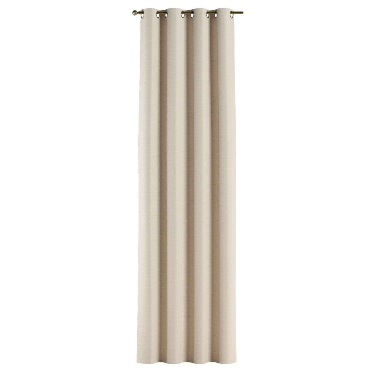 Gardin mørklægning med øskner 140×260 cm fra kollektionen Blackout mørklægning, Stof: 269-66