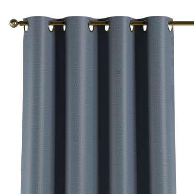 Užuolaidos temdančios žiedinės 1vnt. 269-67 Tamsiai mėlynas su pilkumu žakardinis audinys su struktūriniu paviršiumi Kolekcija Blackout