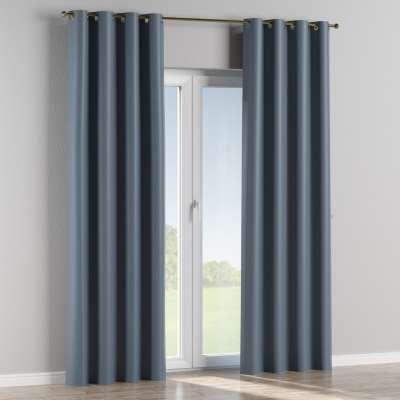 Blackout eyelet curtain 269-67 dark blue Collection Blackout