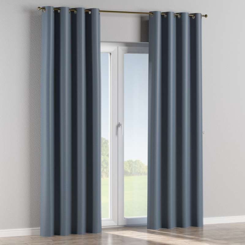 Blackout eyelet curtain in collection Blackout, fabric: 269-67