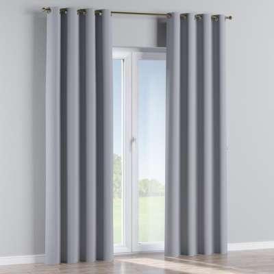 Blackout eyelet curtains 269-96 light grey Collection Royal Blackout