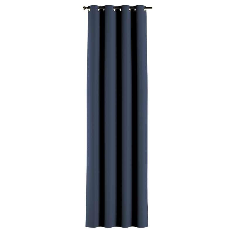Lystet gardin med maljer 1 stk. fra kolleksjonen Blackout (mørklegging), Stoffets bredde: 269-16