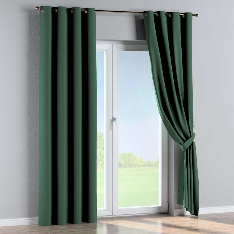 Blackout eyelet curtain in collection Blackout, fabric: 269-18