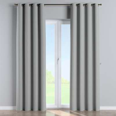 Blackout eyelet curtain 269-19 geometric pattern on a gray background Collection Blackout