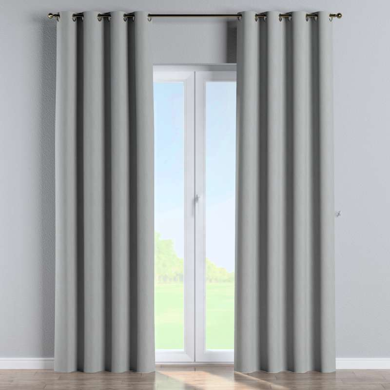 Blackout eyelet curtain in collection Blackout, fabric: 269-19