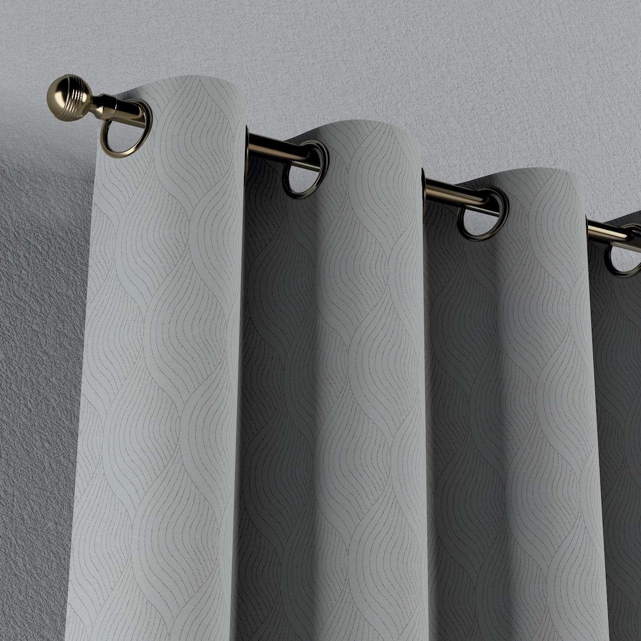 Lystet gardin med maljer 1 stk. fra kolleksjonen Blackout (mørklegging), Stoffets bredde: 269-19