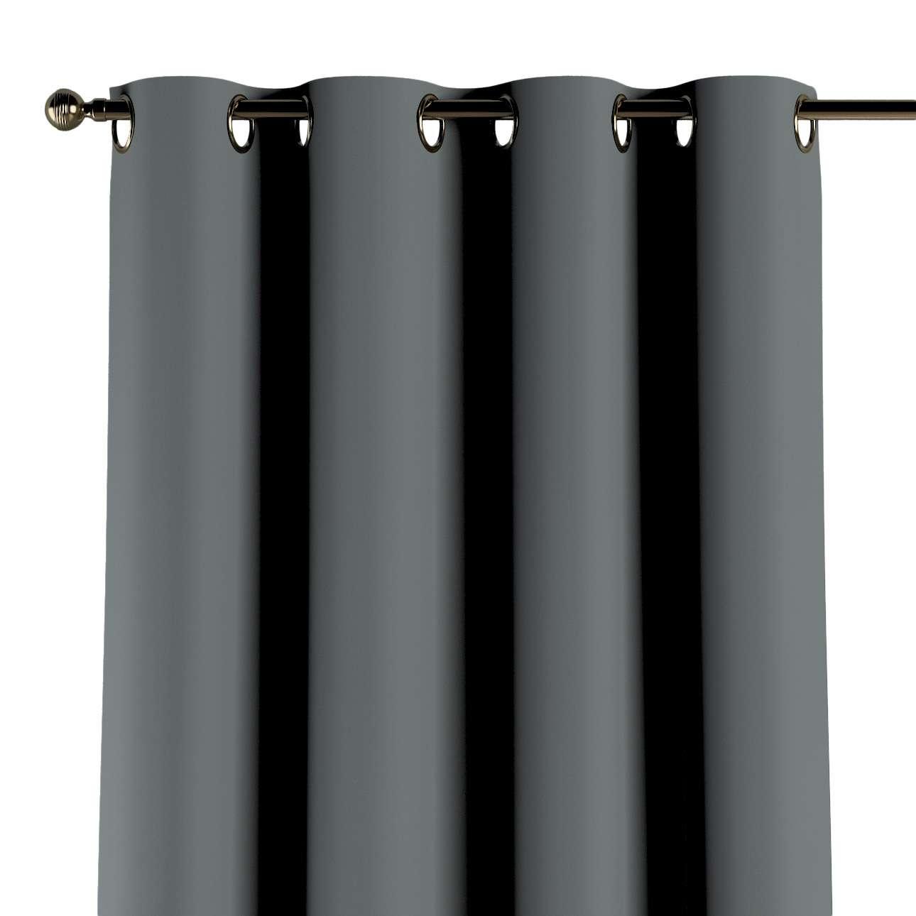 Verdunklungsvorhang mit Ösen von der Kollektion Blackout 280 cm, Stoff: 269-07