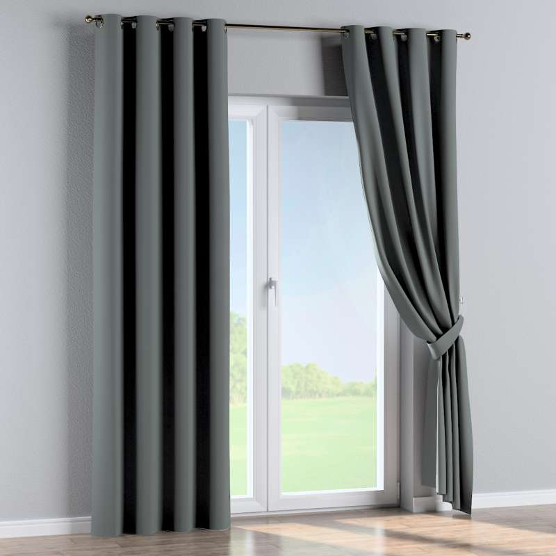 Blackout eyelet curtain in collection Blackout 280 cm, fabric: 269-07