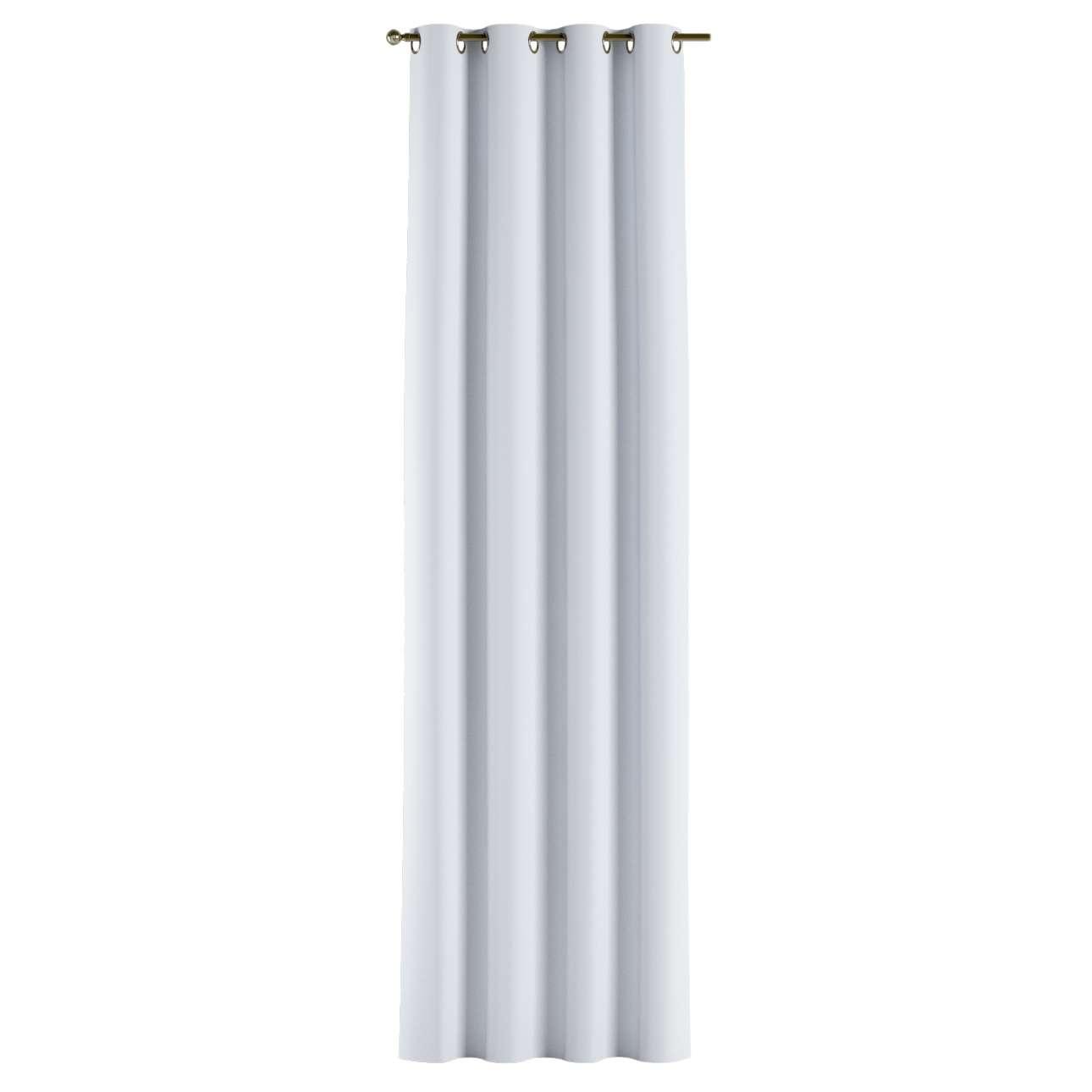 Gardin lystet med maljer 1 stk. 140 × 260 cm fra kolleksjonen Blackout (mørklegging), Stoffets bredde: 269-01