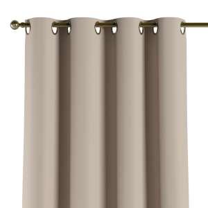Mörkläggande gardin med öljetter 1 längd 140x260 cm i kollektionen Blackout (mörkläggande), Tyg: 269-00