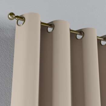 Gardin lystet med maljer 1 stk. 140 × 260 cm fra kolleksjonen Blackout (mørklegging), Stoffets bredde: 269-00