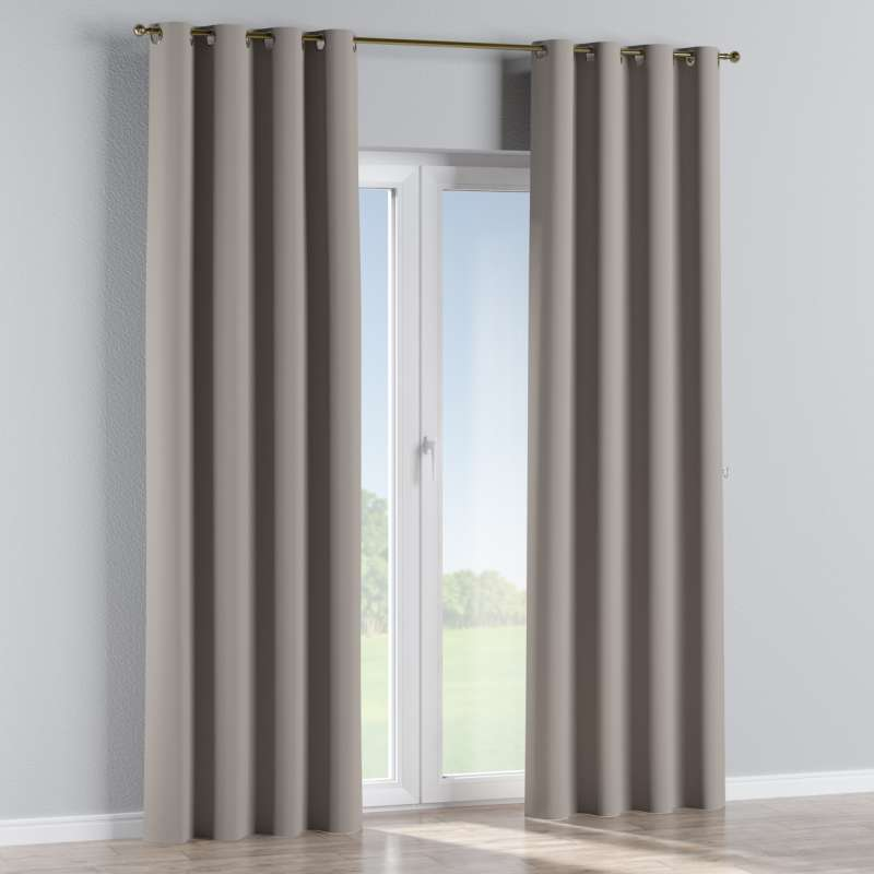 Blackout eyelet curtain in collection Blackout, fabric: 269-81