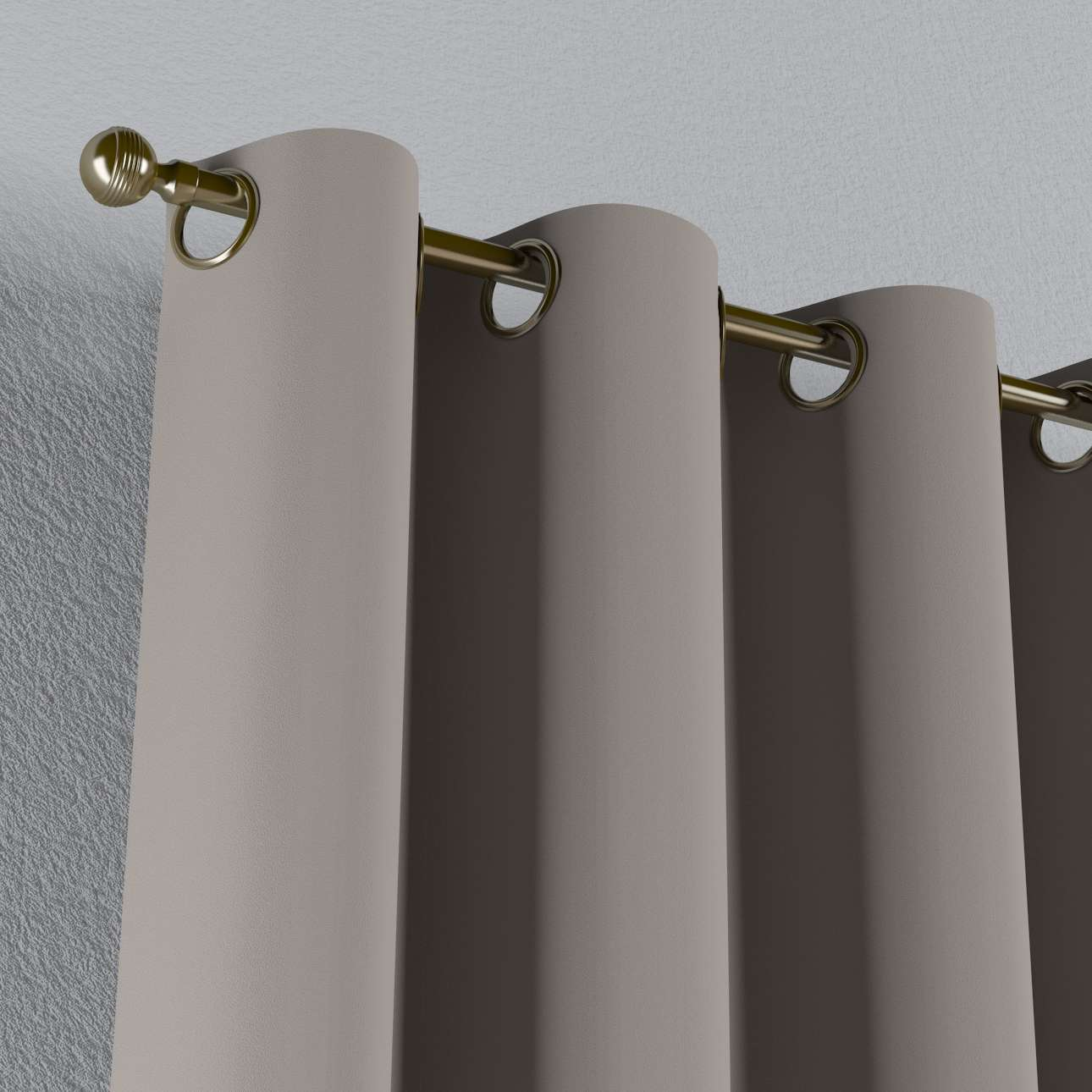 Lystet gardin med maljer 1 stk. fra kolleksjonen Blackout (mørklegging), Stoffets bredde: 269-81