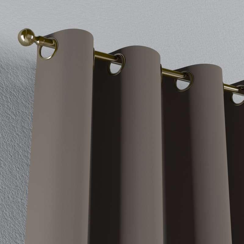 Lystet gardin med maljer 1 stk. fra kolleksjonen Blackout (mørklegging), Stoffets bredde: 269-80
