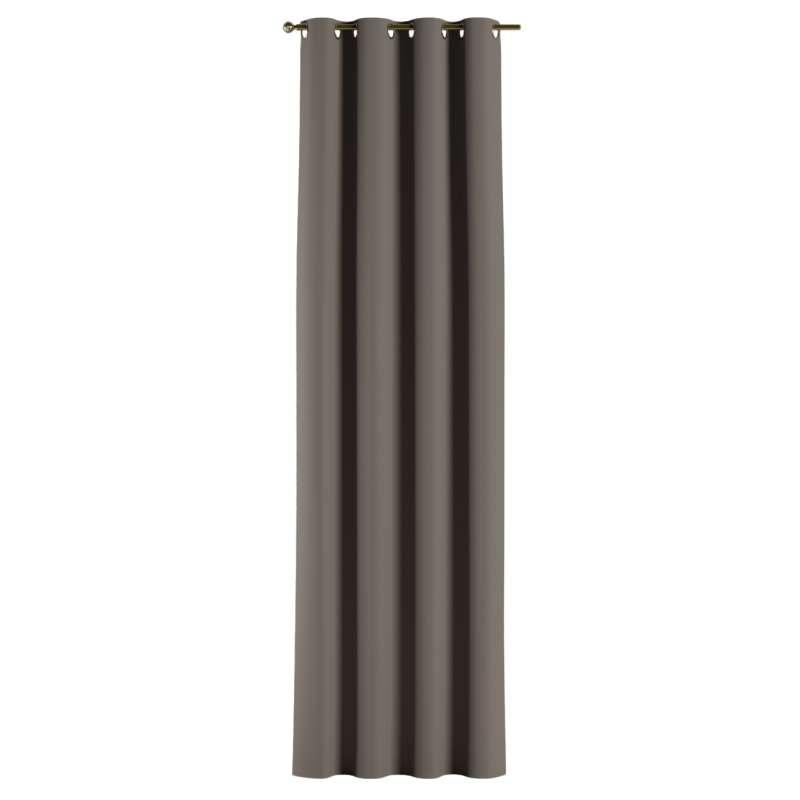 </strong>Mørklægningsgardin</strong> med øskner 1 stk. fra kollektionen Blackout mørklægning, Stof: 269-80