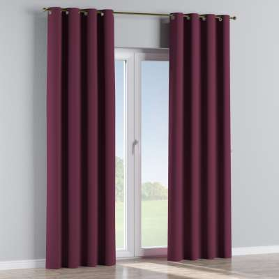 Blackout eyelet curtain 269-53 purple Collection Blackout
