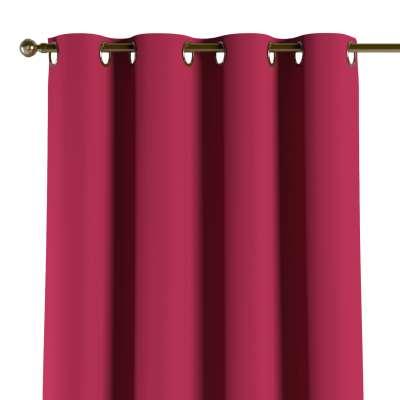 Užuolaidos temdančios žiedinės 1vnt. 269-51 sodri raudona Kolekcija Blackout