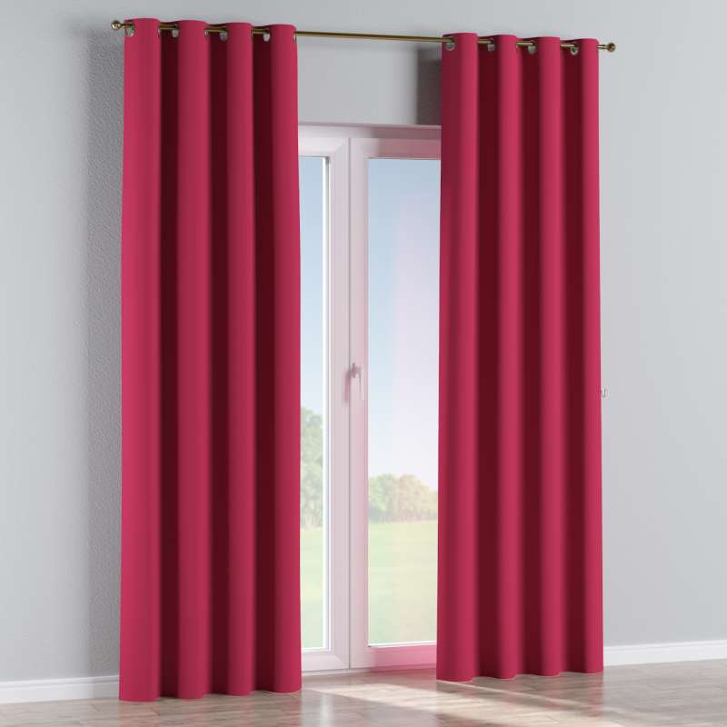 Blackout eyelet curtain in collection Blackout, fabric: 269-51