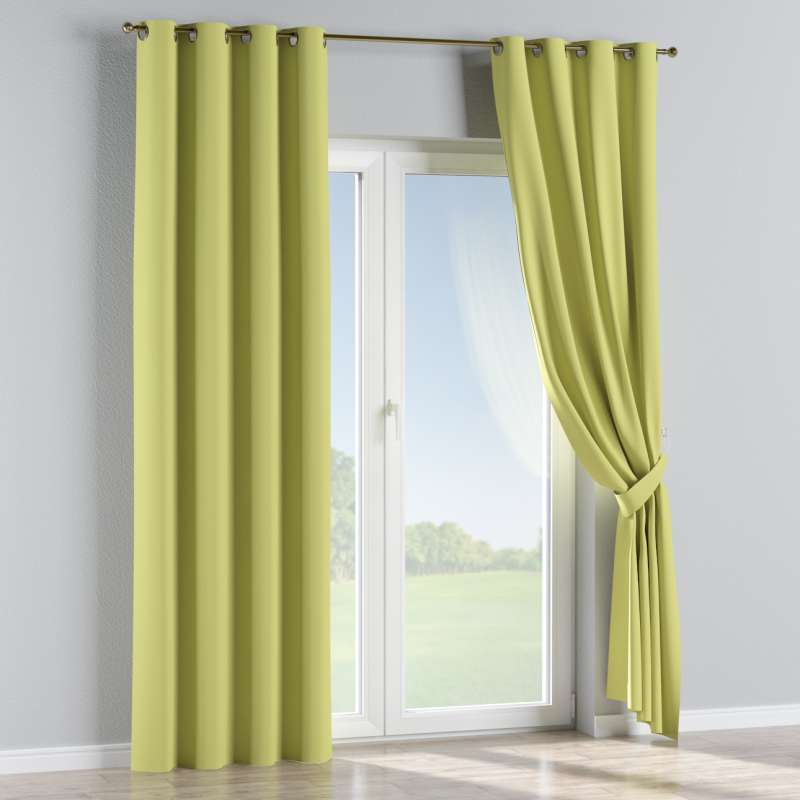 Blackout eyelet curtain in collection Blackout, fabric: 269-17
