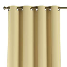 Blackout eyelet curtain