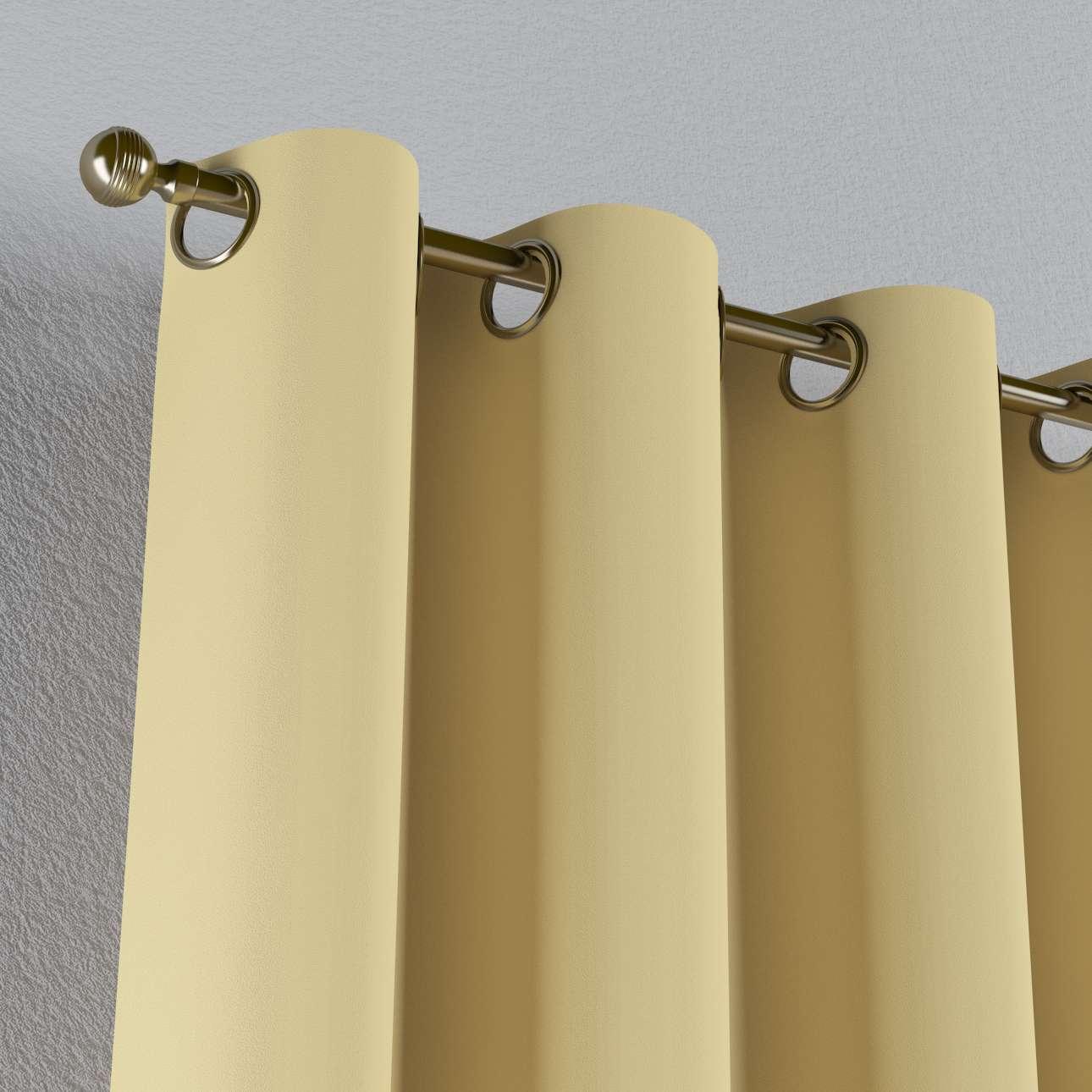 Zasłona zaciemniająca na kółkach 1 szt. 1szt 140x260 cm w kolekcji Blackout - zaciemniające, tkanina: 269-12