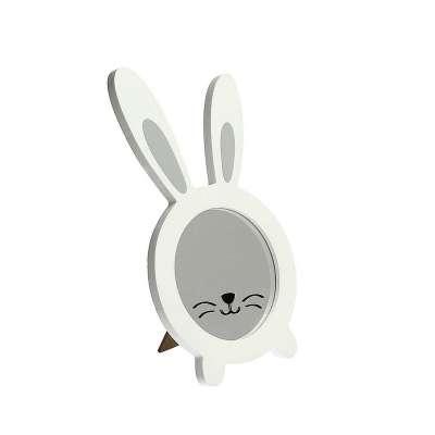 Lusterko Rabbit white