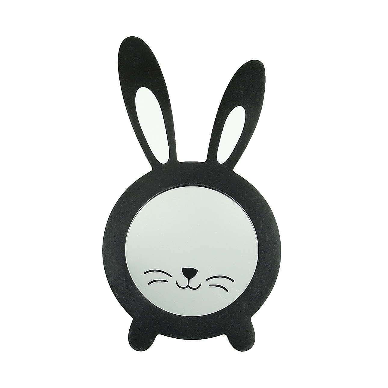 Lusterko Rabbit black
