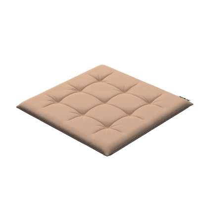 Eddie seat pad 702-01 beige/cappuccino Collection Cotton Story