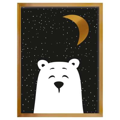 Bild Funny Band bear 30x40cm