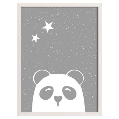 Funny Band panda II 30x40cm