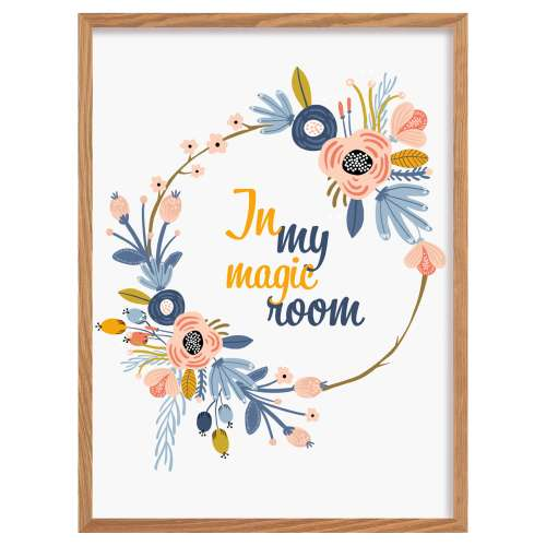 Obrazek Magic Flowers  30x40cm