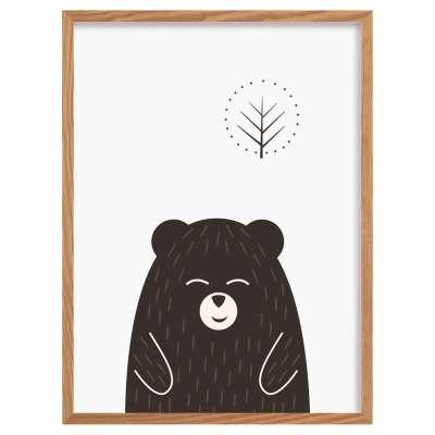Obrázek Scandi Forest bear I 30x40 cm