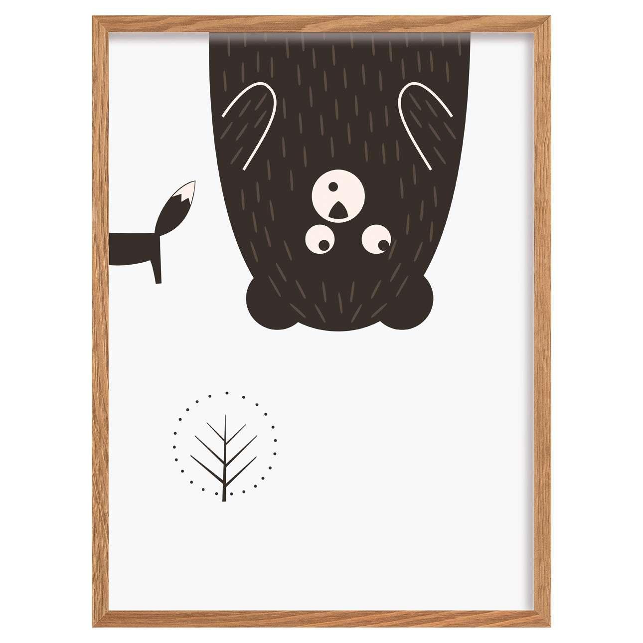 Obrazek Scandi Forest bear II 30x40cm
