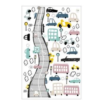 Zestaw naklejek Colorful Traffic