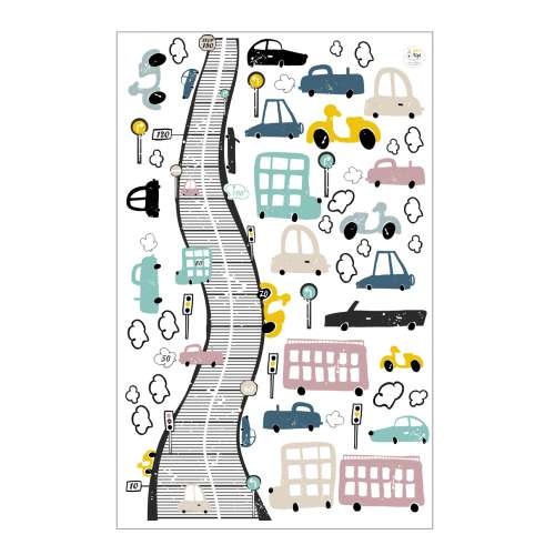 Colourful Traffic sticker set