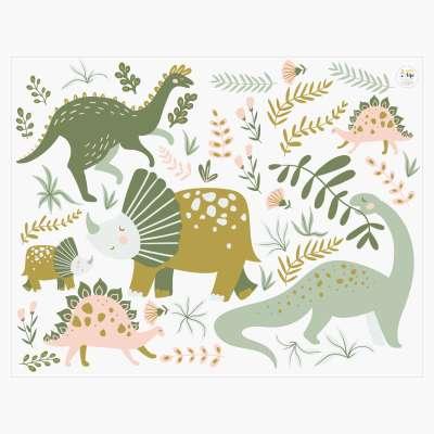 Zestaw naklejek Amazing Dino Land