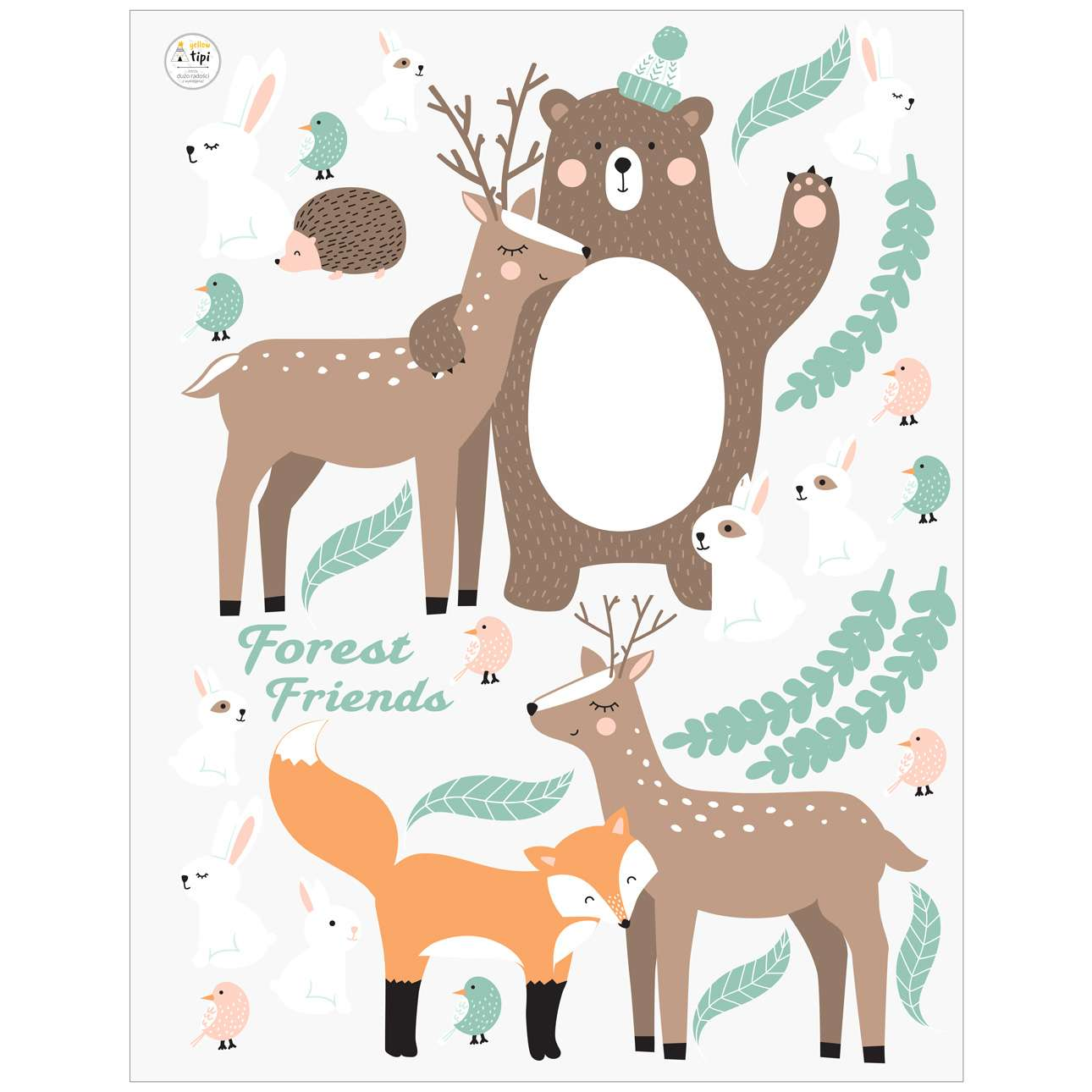 Aufkleber-Set Forest Friends