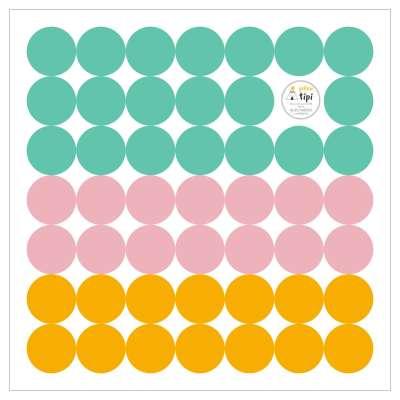 Sada samolepek Mini Dots happy tone Mini sady samolepek - Yellowtipi.cz