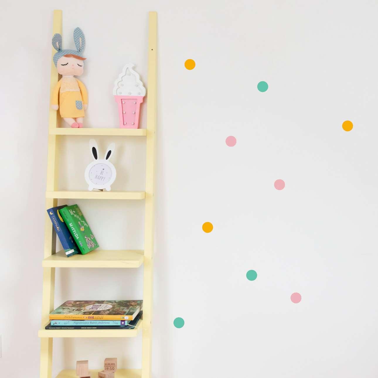 Aufkleber-Set Mini Dots happy tone