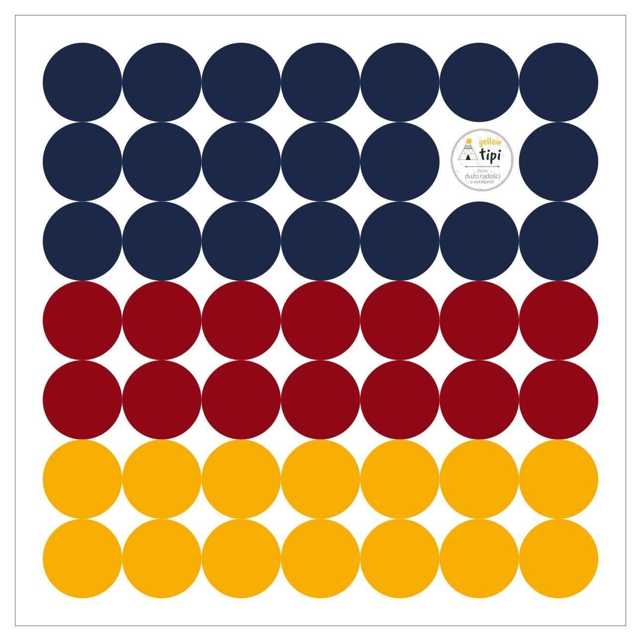 Aufkleber-Set Mini Dots intense tone