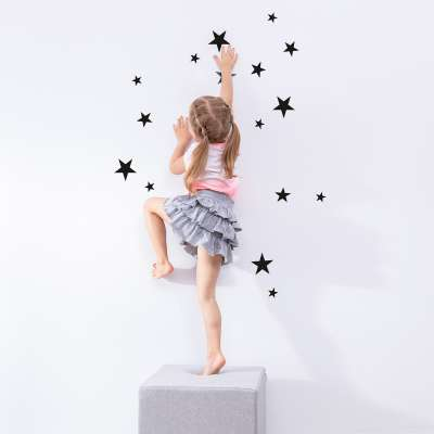 Mini Stars black set