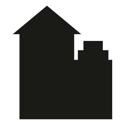 Tafelaufkleber Houses