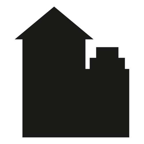 Naklejka tablicowa Houses